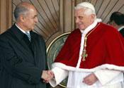'Pope backs Turkey to join EU'