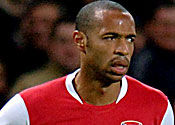 Thierry overlooked by FIFA
