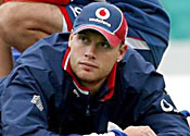 Coach admits Flintoff concern