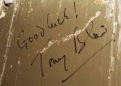 Tony Blair Good Luck message