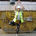 'Boozy builder' makes yoga video