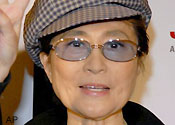 Yoko Ono will be one of the judges