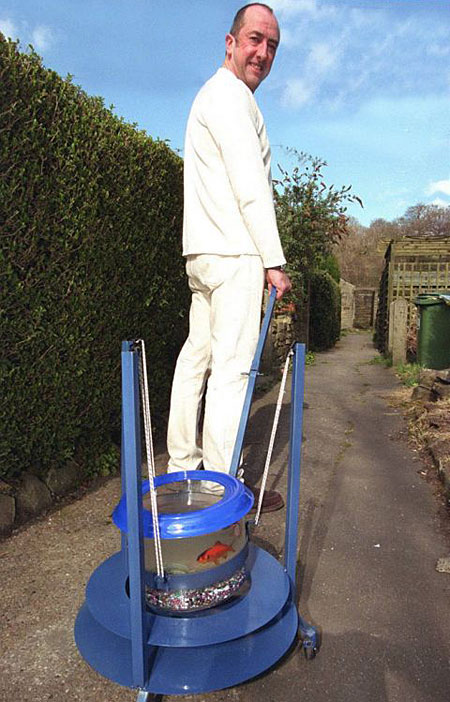 Mick Madden fish walk