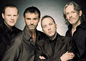 Neil Mitchell (second right) in Wet Wet Wet