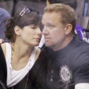 Sandra's husband 'fine' after attack