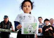 Terrier dies saving children from pitbulls