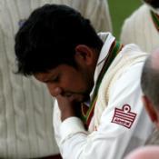 Sarwan plays waiting game