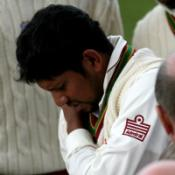 Sarwan plays waiting game