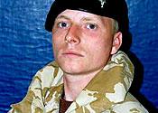 Lance Corporal Paul Sandford
