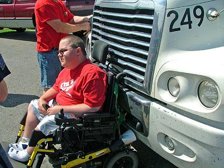Wheelchair truck guy