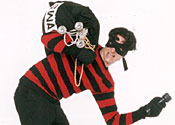 What the burglar may have looked like