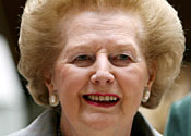Lady Thatcher has become increasingly fragile