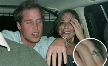 William and Kate in a boozy state