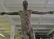 Naked chocolate Jesus finally rises