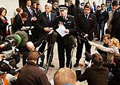 Backing for top policeman Blair