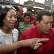 Naomi heaps praise on Chavez