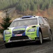 Crash leaves Gronholm in hospital
