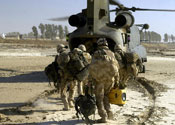 A soldier in Afganistan has been killed in a blast