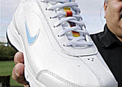 Nike trainer for Native Americans