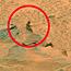 Little green 'naked' alien discovered on Mars