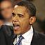 Jubilant Obama backed by Kennedy