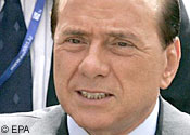 Legal trouble: Berlusconi