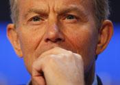 Tony Blair Davos