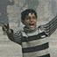 'Human chain' defies Israel threats