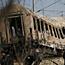 Four dead in train blaze drama