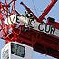 Activists scale crane in EU Treaty protest