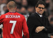 Beckham can still star in 2010 World Cup, insists Capello