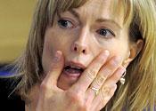 Maddie's mum denies 'blaming' holiday company