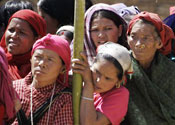 Queues to vote in Nepal after 9-year wait