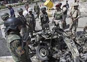 Nine die in Iraq car bomb