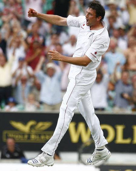 Steve Harmison ripped through the Australian order in 2005