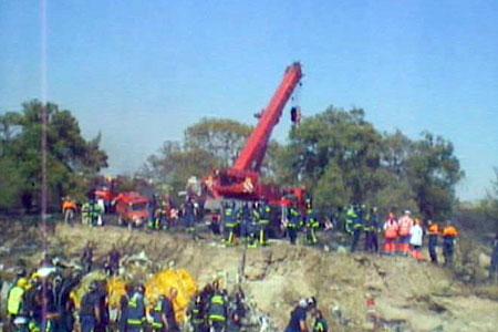 Madrid air crash