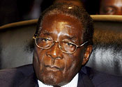 Mugabe downbeat on Zimbabwe power-sharing talks