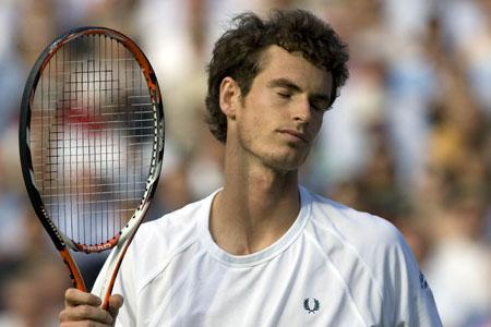 Murray losing