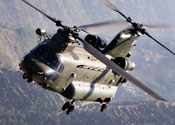 There are 10 Chinooks in Afghanistan