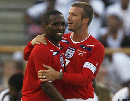 Beckham and Defoe