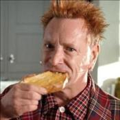 Punk frontman turns to butter