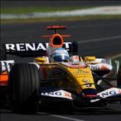 Alonso fastest again
