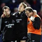 Wilkinson suffers injury