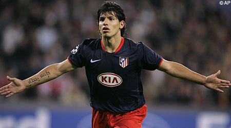 Chelsea target: Sergio Aguero