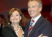 Cherie Blair's knickers 'to go on eBay'