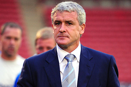 Manchester City boss Mark Hughes