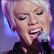 Pink: Ex not offended by lyrics
