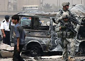 Suicide bomber kills 12 people