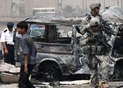 Suicide bomber kills 12 people