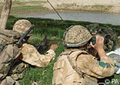 Two Royal Marines killed in Afghan explosion
